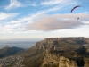 Long Pete high over the Twelve Apostles on his Gradient Aspen 4