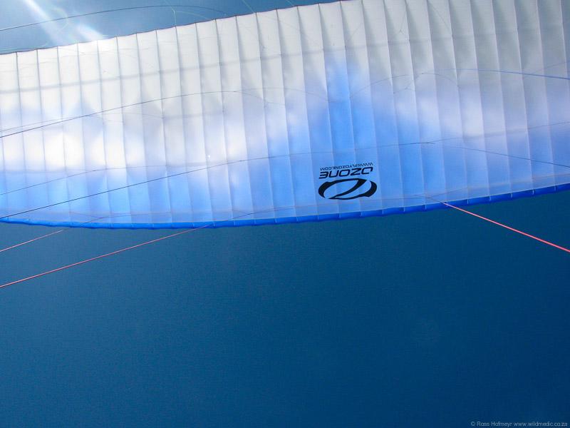 Ozone airborne