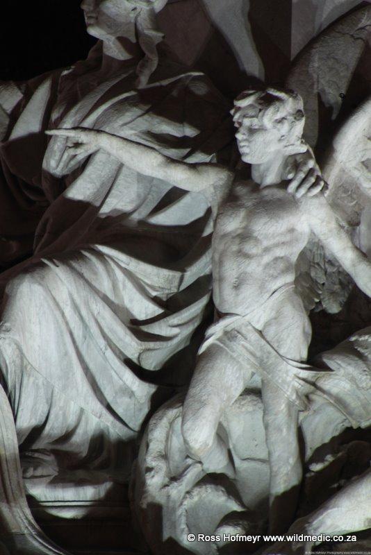 Columbus Statue Detail
