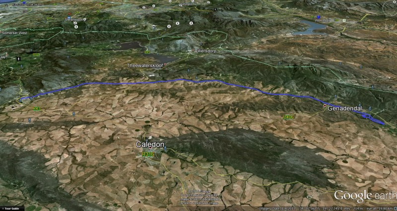 "Flight track overview - ""IFR"" = I Follow Rivers/Roads"