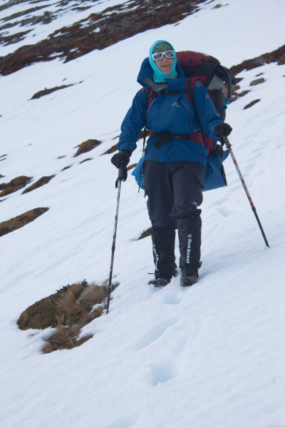 Fran looking epic in her First Ascent winter gear